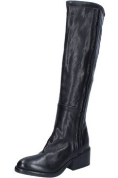 Bottes Moma bottes noir cuir BY922(115470519)