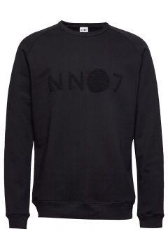 Robin Logo Sweat 3385 Sweat-shirt Pullover Schwarz NN07(114153984)