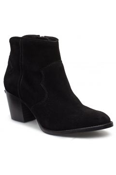 Molly Suede Shoes Shoes Boots Ankle Boots Ankle Boots With Heel Schwarz ZADIG & VOLTAIRE(93551978)