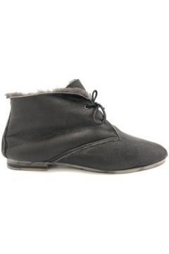 Boots Nice Shoes Boots Fourrées Noires(115647853)