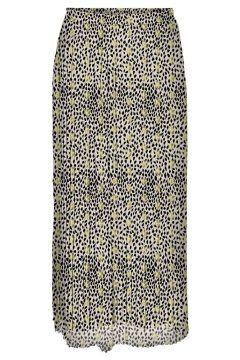 VERO MODA Taille Haute Jupe Longue Women beige(116293604)
