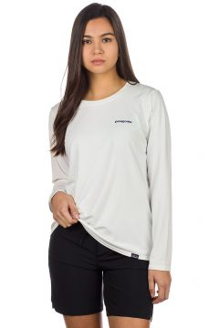 Patagonia Cap Cool Daily Graphic Longsleeve Lycra wit(96258327)