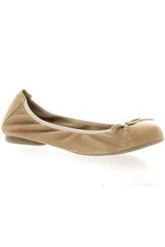 Ballerines Latina Ballerines cuir velours nude(115614352)