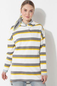 Sweat-shirt Laruj Gris / Jaune(108581279)