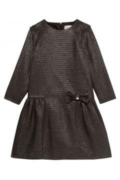 Lurex Kleid mit Schleife(112328282)