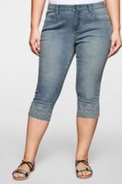 Sheego Capri-Jeans Sheego light blue Denim(111506217)