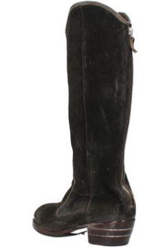 Bottes Moma bottes noir daim AF263(115466152)