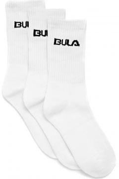 Sports Socks Bula Classic 3pack - White(115689916)