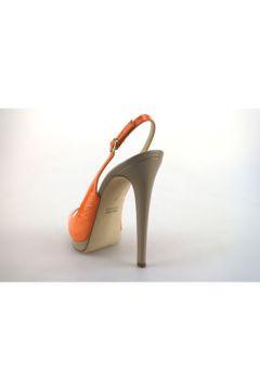 Sandales Paul Betty sandales orange cuir verni AG359(88469521)