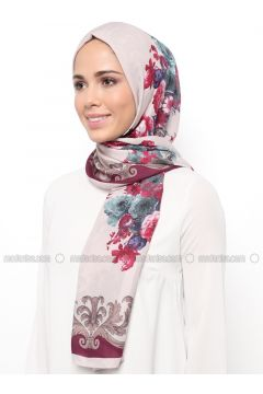 Multi - Printed - Shawl - Karaca Eşarp(110342673)
