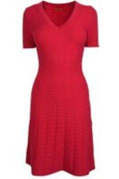 Hugo Ribbed Dress - Pink 642(111096109)