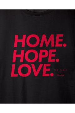 Home Hope Love Cotton Charity T-shirt(114064798)