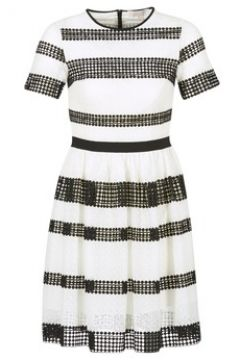 Robe MICHAEL Michael Kors GRAPHIC CR STRIPE DRS(115386557)