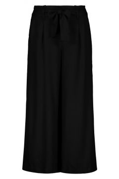 Schwarze Culotte Hose(111106292)