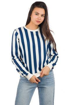 Dedicated Ystad Big Stripes Sweater wit(85191974)