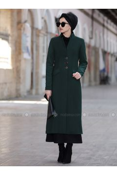 Emerald - Fully Lined - Shawl Collar - Jacket - Piennar(110333295)