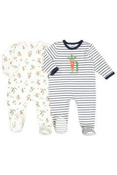 Lote de 2 pijamas de felpa estampadados, 0 meses - 3 años(108523040)
