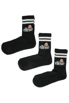 Ellesse Pullo 3 Pack Socks (9 - 11.5 ) zwart(96278270)