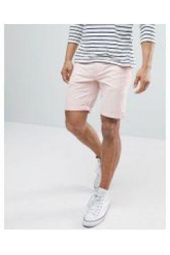 D-Struct - Chino-Shorts mit Umschlag - Rosa(83084042)