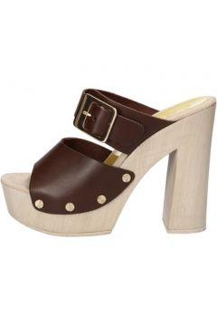Sandales Suky Brand sandales marron cuir AC765(88469802)