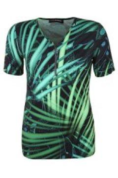 Shirt mit erweiterbarem Dekolleté Doris Streich moos(111503872)