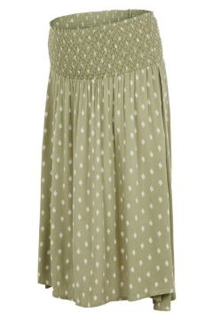 MAMA.LICIOUS Taille Smockée Jupe Grossesse, Courte Women green(110457644)