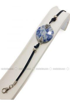 Navy Blue - Bracelet - Büşra Anıl(110338761)