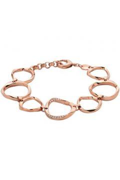 Bracelets Fossil Bracelet en Acier Rose et Oxyde Blanc Femme(101557764)
