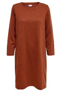 ONLY Lockeres Kleid Damen Braun(114173784)