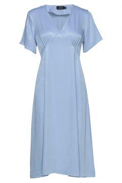 Livier Dress Kleid Knielang Blau MORRIS LADY(108942721)
