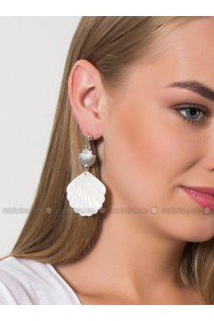 White - Earring - Modex(110314413)