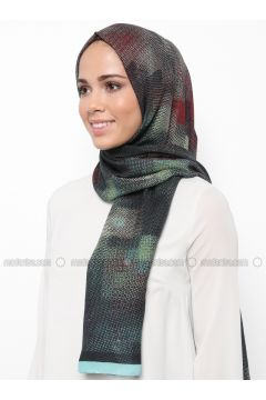 Multi - Printed - Shawl - Karaca Eşarp(110342667)