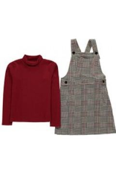 Crafted Dress Set Infant Girls - Black Check(100546324)
