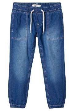 NAME IT Regular Fit Elastic Waist Jeans Heren Blauw(114504504)