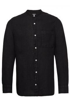 Justin Shirt 5706 Hemd Casual Schwarz NN07(114154592)