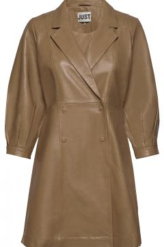 Lexie Leather Dress Kurzes Kleid JUST FEMALE(108839077)