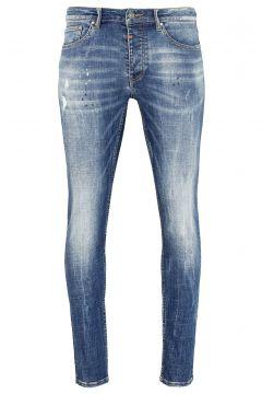 tigha Damen Slim Fit Jeans Morty 9054 stone wash blau (mid blue)(113747471)