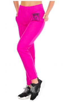 Women's sport tracksuit trousers teddy bear label(116935718)