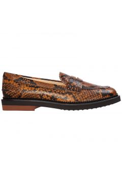 Women's leather loafers moccasins(116887287)