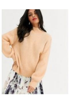 Other Stories - Hochgeschlossener Pullover in Beige - Beige(94966593)
