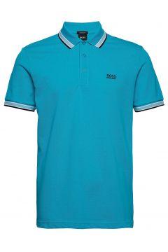 Paddy Polos Short-sleeved Blau BOSS(114355555)