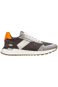 Men's shoes leather trainers sneakers miles(116886935)