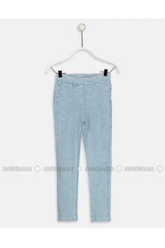 Blue - Legging - LC WAIKIKI(110343405)