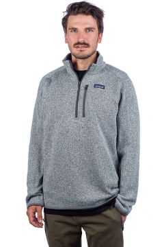 Patagonia Better Sweater 1/4 Zip Fleece Pullover grijs(95395750)
