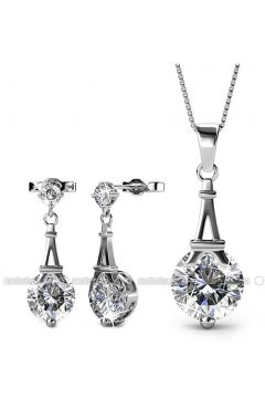 Silver tone - Necklace - Monemel(110312874)