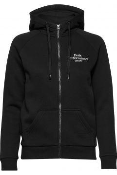 W Original Zip Hood Hoodie Pullover Schwarz PEAK PERFORMANCE(114802006)