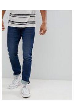 Only & Sons - Schmal geschnittene Jeans in mittelblauer(89281439)