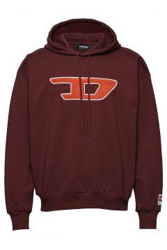S-Division-D Sweat-Shirt Hoodie Pullover Rot DIESEL MEN(114153286)