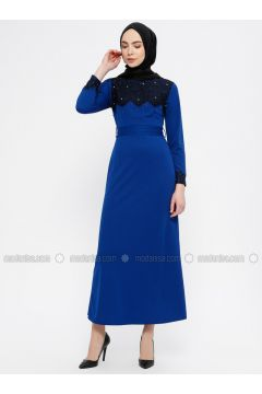 Saxe - Crew neck - Unlined - Dresses - MEKSİLA(110321781)