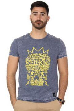 T-shirt Redskins Tee-shirt Skully Bauhaus ref_42898 Marine(98541314)